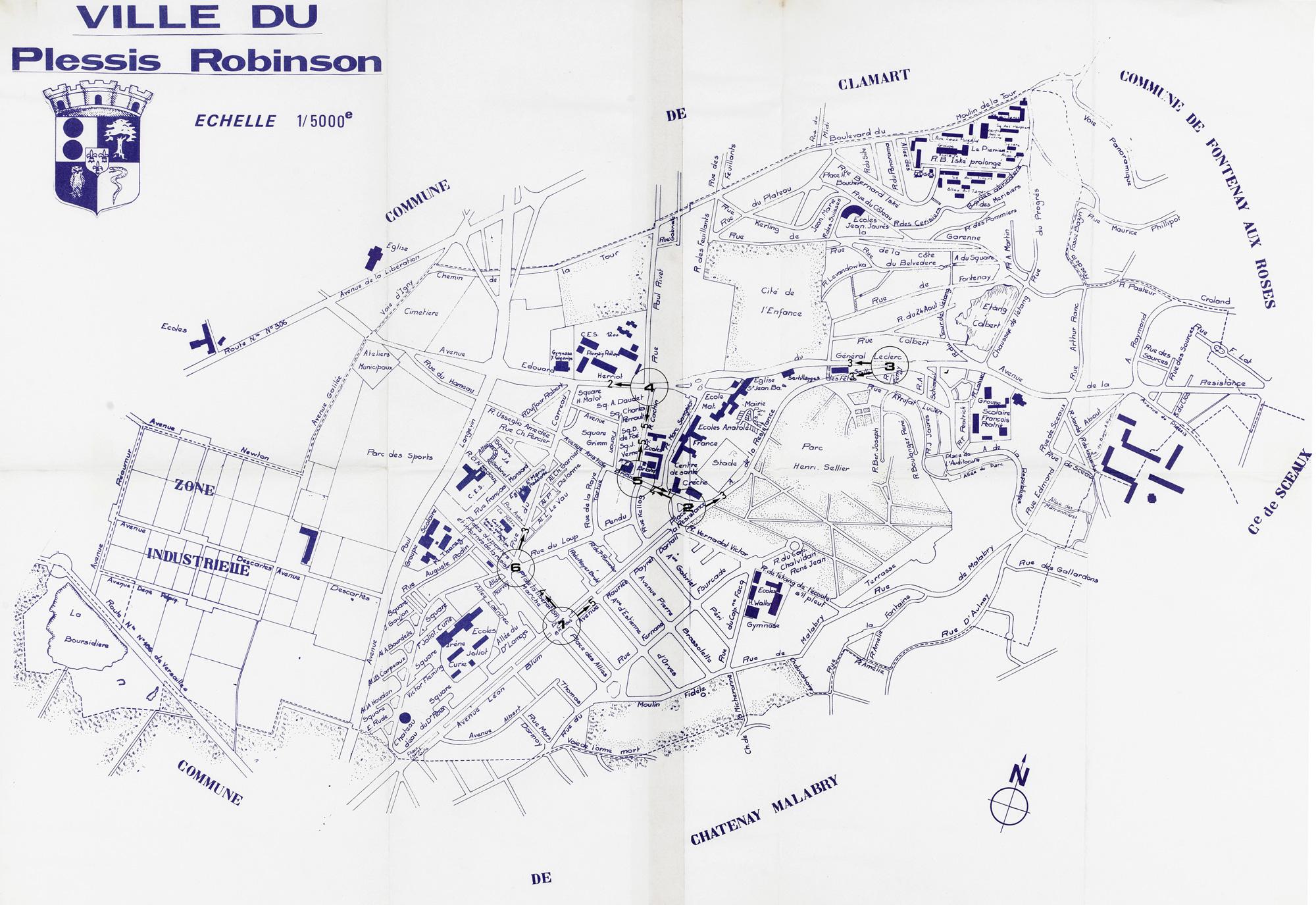 Les archives num ris es ville de plessis robinson - Piscine du hameau plessis robinson ...